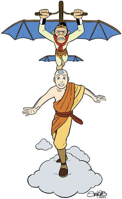 Im Writing The New Avatar The Last Airbender Comic Gene Luen Yang