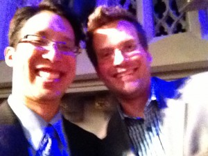 Selfie with John Green. Bucket List Item #146, check.