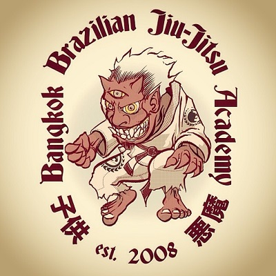 Luke's design for a BJJ Academy logo
