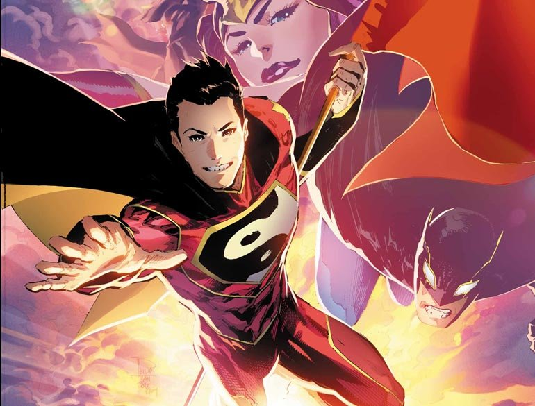 THE FINAL ISSUE OF NEW SUPER-MAN COMES OUT THIS WEEK!