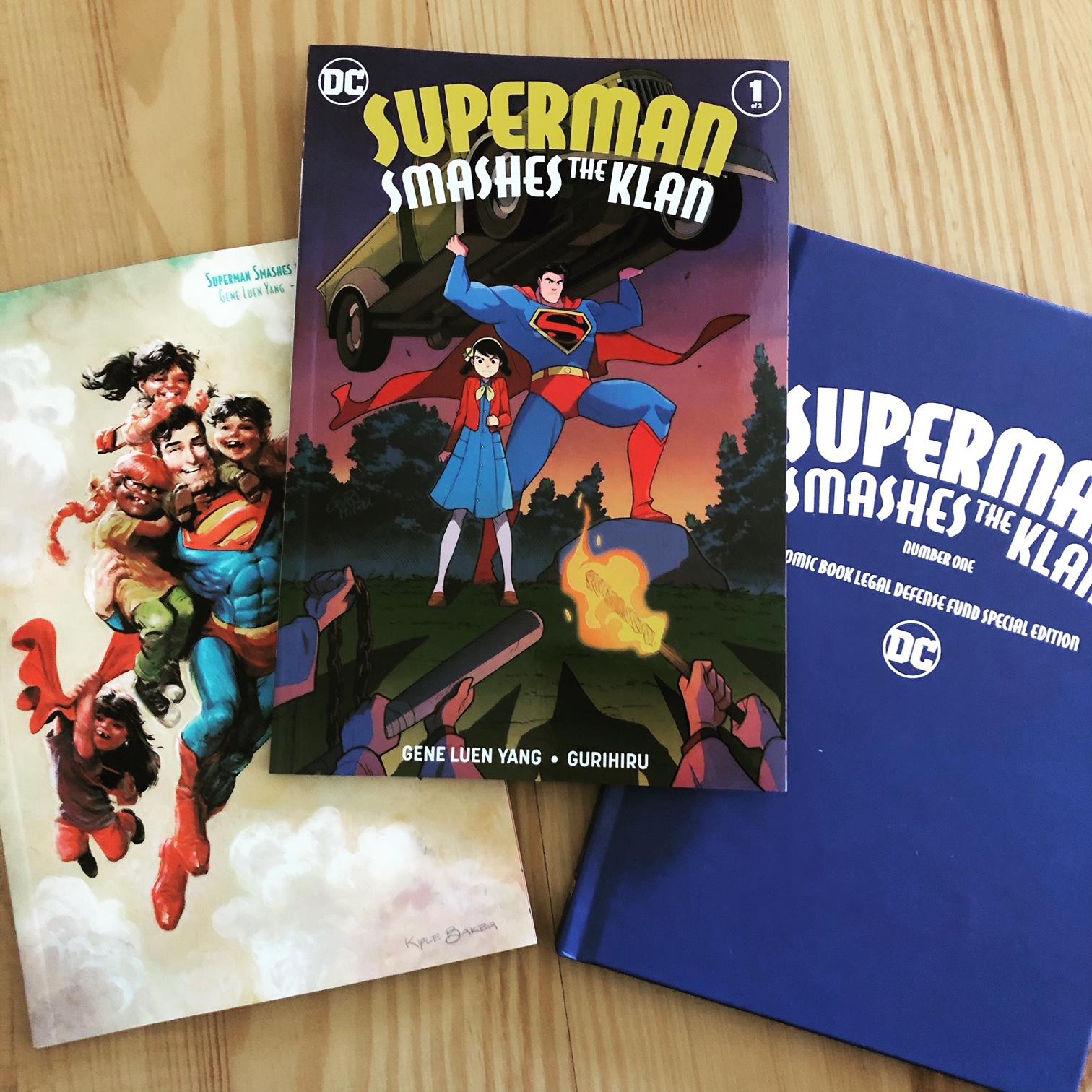 Superman Smashes the Klan on October 16!