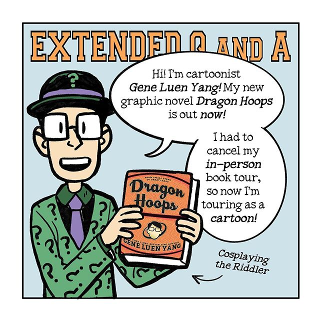 "Dragon Hoops (Online) Book Tour: Day 10, ""Extended Q&A"""