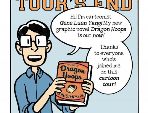 "Dragon Hoops (Online) Book Tour: Day 11, ""Tour's End"""